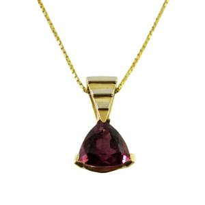 14k white and yellow gold<span>4.56ct pink tourmaline</span>