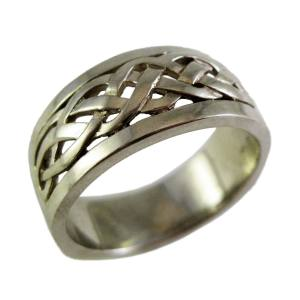 14k white gold wide celtic<span>$1195</span>